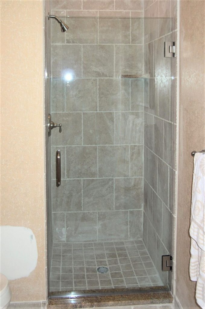 doors vancouver custom shower inline right angle glass
