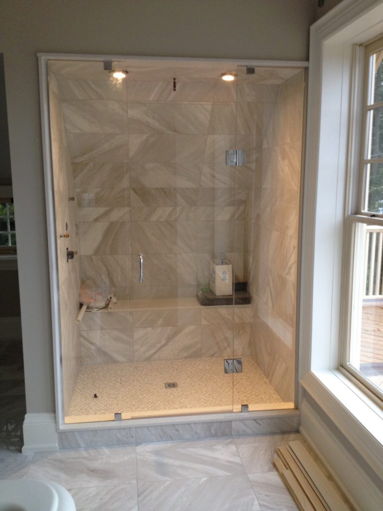 downstairs shower lo company stone glass fancy mirror project koonse